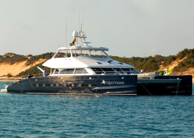 The Open Ocean 750 Power-Expedition Catamaran 1 22.56 m / 75 ft