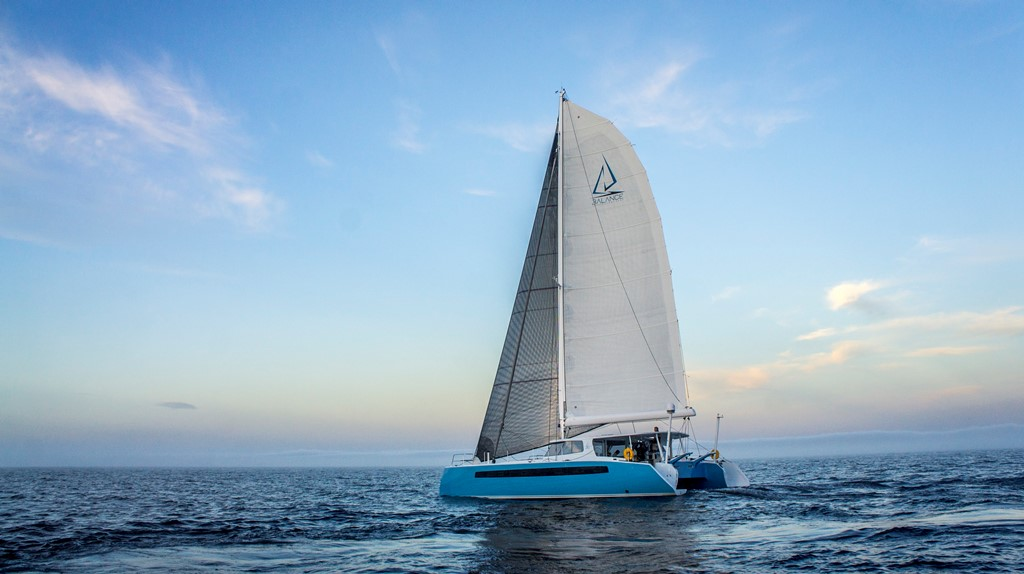 SAIL Magazine Review: Balance 526 Sailing Catamaran
