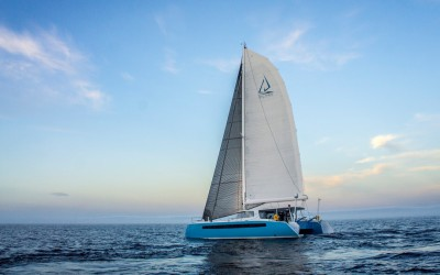The Balance 526 Sailing Catamaran in Mutihulls Magazine