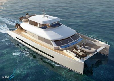 The Open Ocean 850 Luxury Expedition Catamaran
