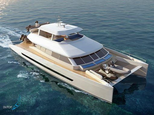<strong>The Open Ocean 850 Luxury Expedition Catamaran </strong><br>