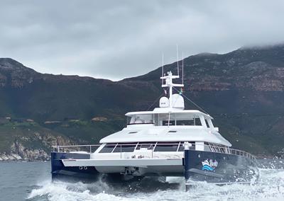 <strong>The Two Oceans 850 E Power Catamaran </strong><br>