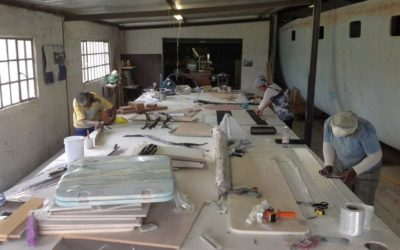 SABC News video: The building of the Quest 50 sailing catamaran