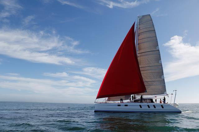 High performance catamaran launch