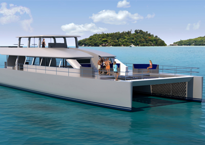Two Oceans 110 Day Charter Catamaran