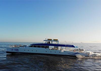 Two Oceans 110 Day Charter Catamaran 110 foot
