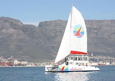 Two Oceans 700 Day Charter Sailing Catamaran70 foot