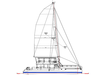 <strong>Two Oceans 700 Day Charter Sailing Catamaran</strong><br>70 foot
