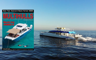 Two Oceans 110 Day Charter Catamaran in Multihulls Magazine